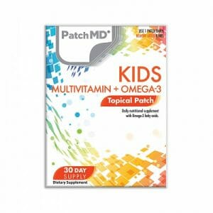 patchmd kids multivitamin + omega-3 topical patch