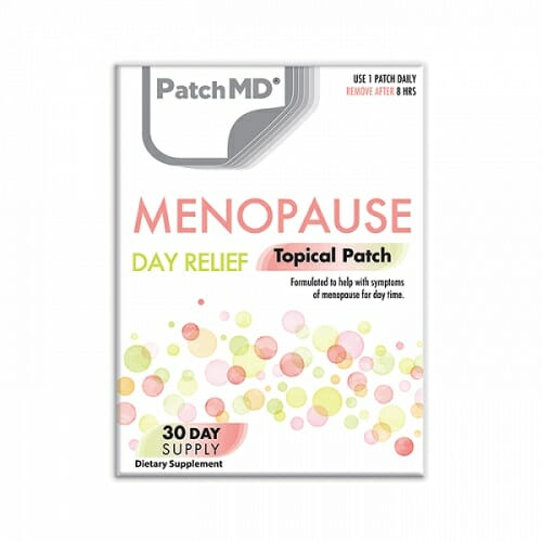 patchmd menopause day relief
