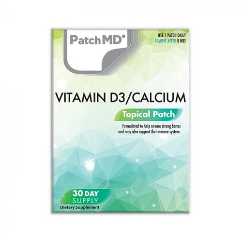 patchmd vitamin d3/calcium topical patch