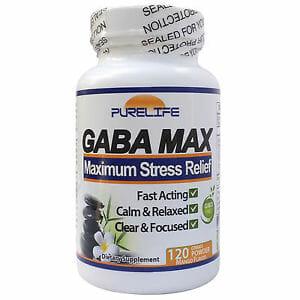 gaba-max, phenyl-gaba, purelife, nootropic, stress, mood, anxiety