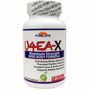 u4ea x, purelife, pure life, nootropic, relax, stress, anxiety