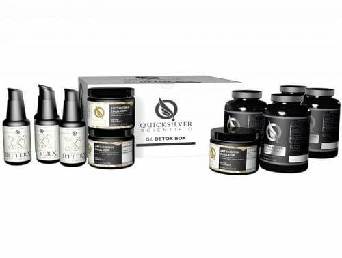 gi detox box, detox, detoxification, ultra binder, quicksilver scientific