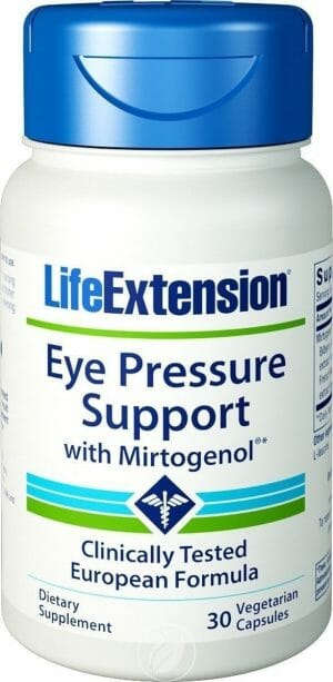 Life Extension Eye Pressure Support with Mirtogenol