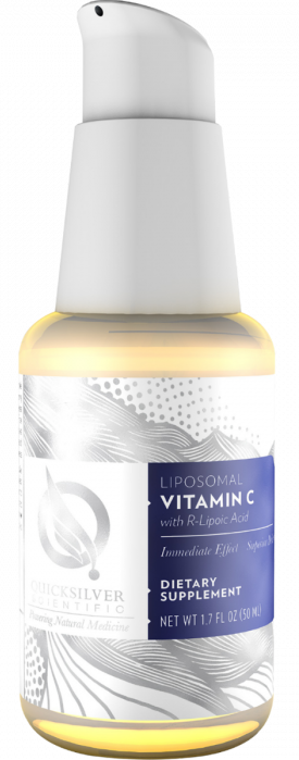Vitamin C & R Lipoic Acid, Etheric Delivery - Quicksilver Scientific