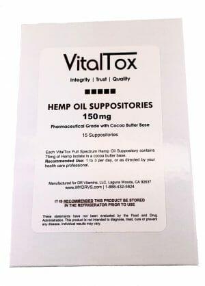 VitalTox | Hemp Oil | LV15938 | CBD - Anxiety - Anti-Inflammatory