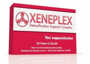 Xeneplex Glutathione Detox Support Suppository, 10 Count - RemedyLink