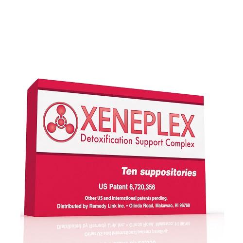 Xeneplex Glutathione Detox Support Suppository, 10 Count - RemedyLink