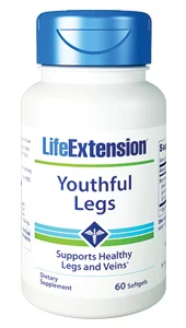 Youthful Legs - Life Extension - Helps Varicose Veins - 01042
