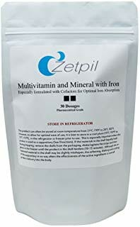 zetpil, multivitamin with iron, multi, multiple, daily, suppository