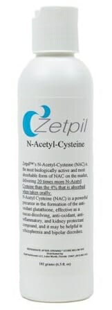 nac, zetpil, topical cream, N-Acetyl-Cysteine, NAC Deep Penetrating Cream