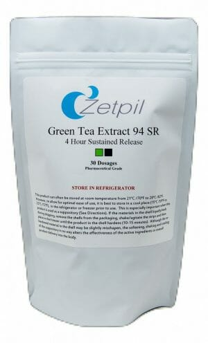 green tea, catechins, suppository, zetpil