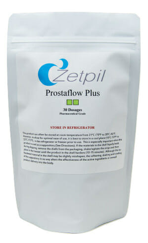 prostaflow, zetpil, suppositories