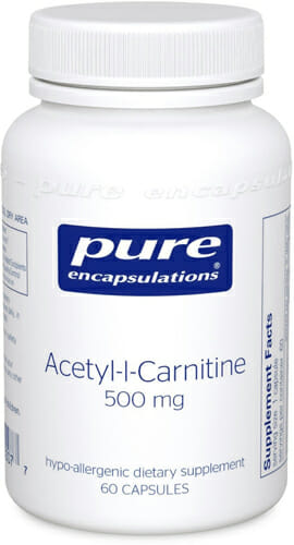 Acetyl-l-Carnitine - Pure Encapsulations - Memory, Cognitive Function