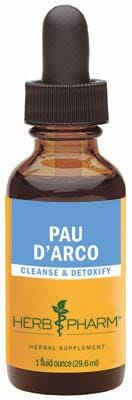 Herb Pharm Pau D'Arco, Tabebuia impetiginosa Extract, 4 oz Bottle