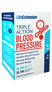 Life Extension Triple Action Blood Pressure AM and PM