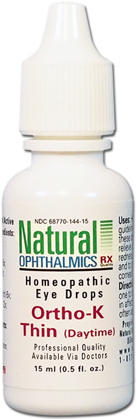 Natural Ophthalmics Ortho-K Thin (Daytime) Eye Drops