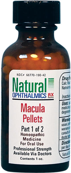Macula Pellets | Natural Ophthalmics | Vision, Eyes, Macular Degeneration