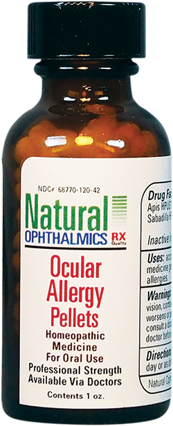 Ocular Allergy Pellets | Natural Ophthalmics | Itching - Burning