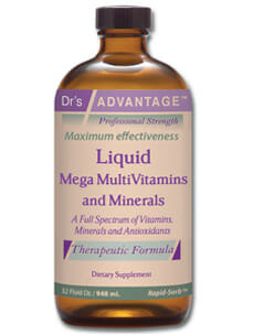 Dr's advantage mega multivitamins and minerals