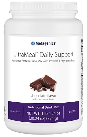 Metagenics | UltraMeal Daily Support | UMDSC | Dietary Aid - Chocolate