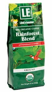 Life Extension Rainforest Blend Coffee