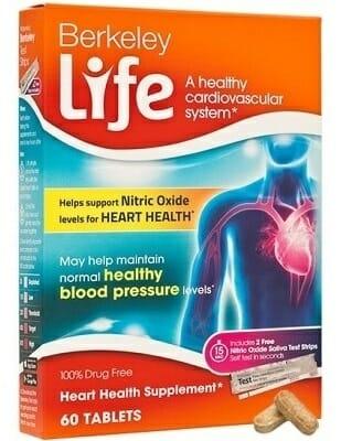 Berkeley Life Heart Health Supplement