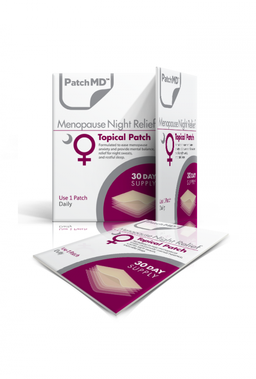 PatchMD | Menopause Night Topical Patch | MENN | Natural - Sleep