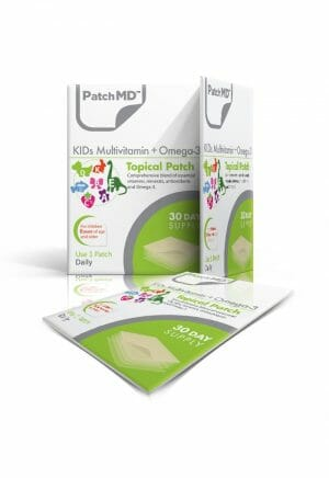 PatchMD | KIDs Multivitamin + Omega-3 Topical Patch | KMV | Easy