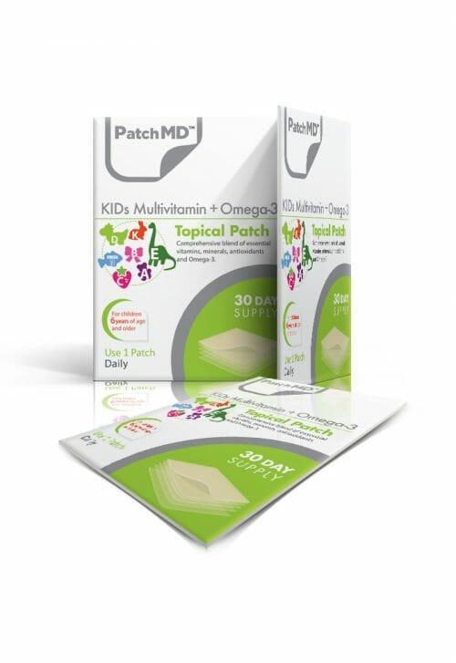 PatchMD | KIDs Multivitamin + Omega-3 Topical Patch | KMV | Easy