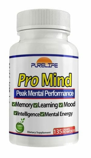 Pro Mind | PureLife | Nootropic - Amino Acid - Memory - Focus