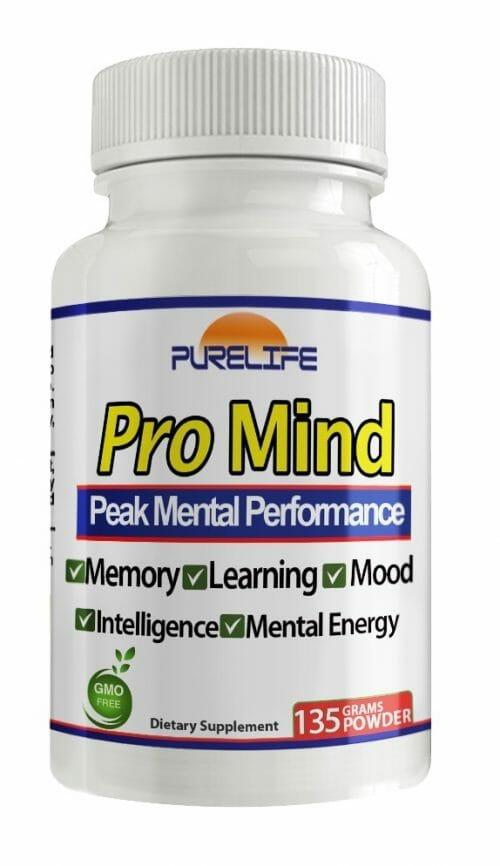 Pro Mind | PureLife | Nootropic - Amino Acid - Memory - Focus