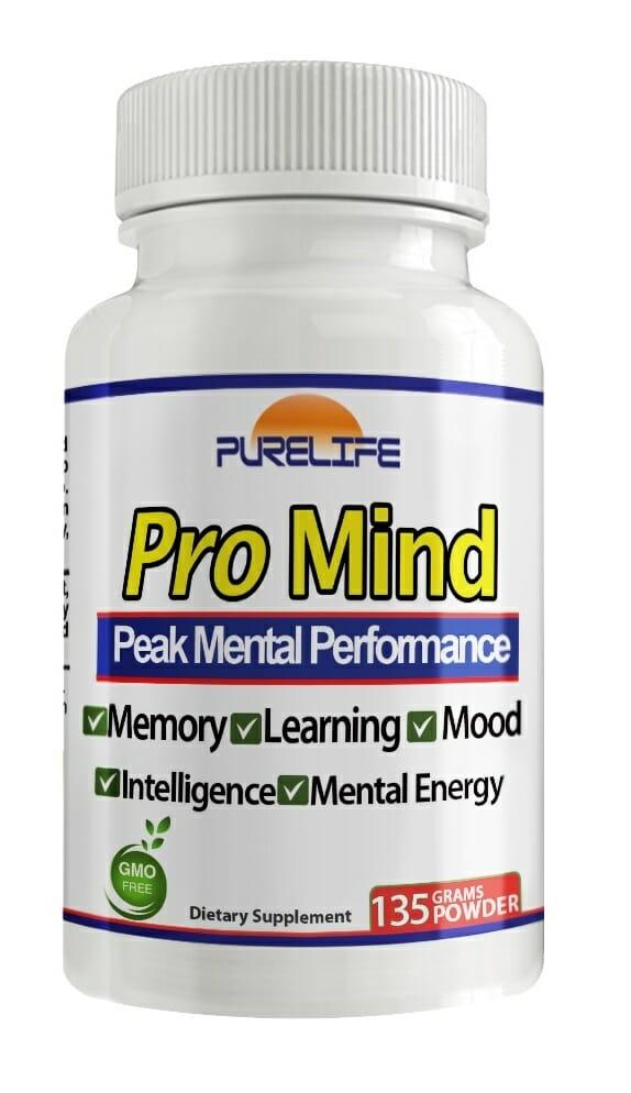 Pro Mind Purelife Nootropic Amino Acid Memory Focus