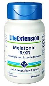 Life Extension Melatonin IR/XR