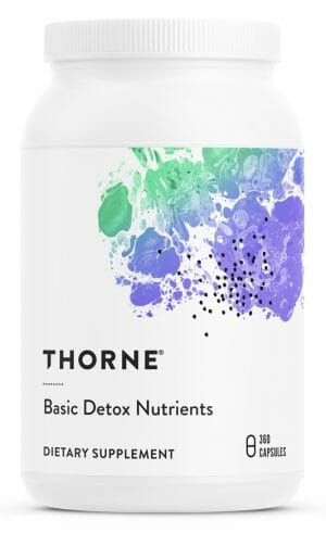 Basic Detox Nutrients | Thorne Research | Multivitamin - Antioxidant