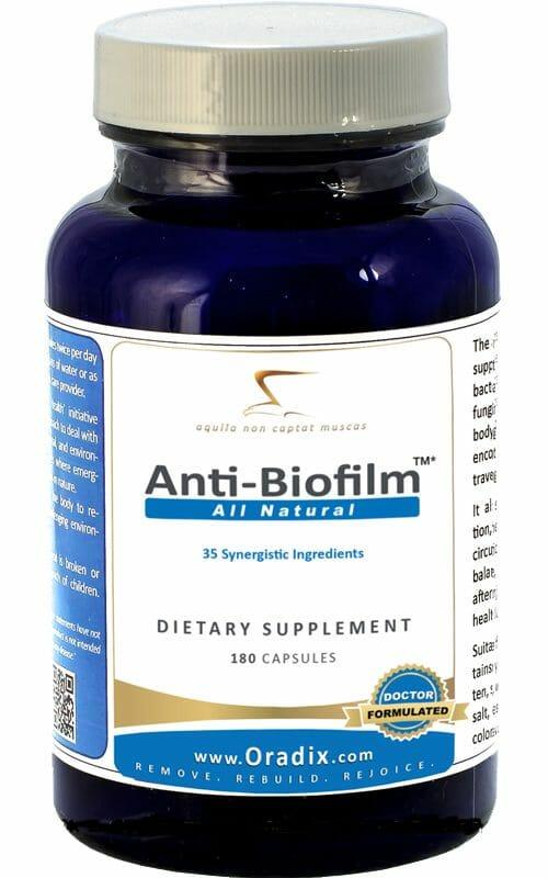 Oradix | Anti-Biofilm | 10882 | Antibacterial - Antibiotic - EDTA
