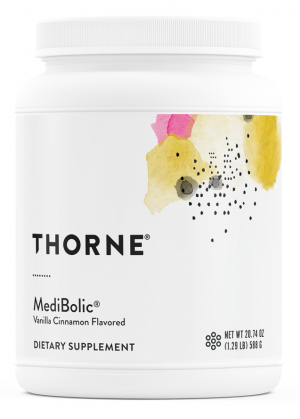 MediBolic | Thorne Research | Rice & Pea Protein - Metabolism - Weight