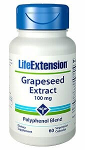 Life Extension Grapeseed Extract, antioxidant
