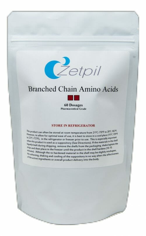 Zetpil Branched-Chain Amino Acids Suppositories