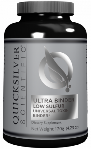 Ultra Binder Low Sulfur | Quicksilver Scientific | Detox - Sensitive Stomach