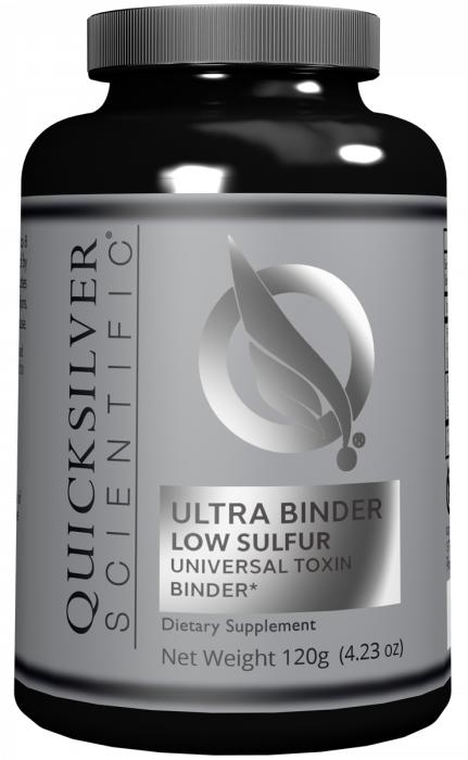 Ultra Binder Low Sulfur | Quicksilver Scientific | Detox - Sensitive Stomach