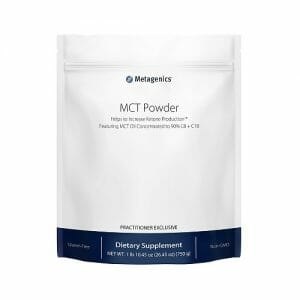 Metagenics MCT Powder | Metagenics | Ketogenic Aid - Cognitive Function - Ketone - brain health