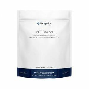 Metagenics MCT Powder | Metagenics | Ketogenic Aid - Cognitive Function - Ketone - brain health