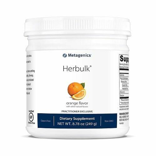 Herbulk | Metagenics | Psyllium Husk - Fiber - Prebiotic - Powder - detoxification - detox