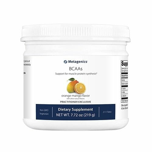 BCAAs | Metagenics | Workout - Cognitive Function - Immune System, branched-chain amino acids