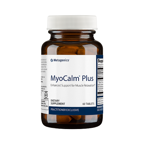 MyoCalm Plus | Metagenics | Muscular Relaxation - Herbs - Minerals - muscle relaxer