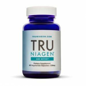 TRU NIAGEN | NAD - Nicotinamide Riboside - Anti-Aging, 60 Capsules