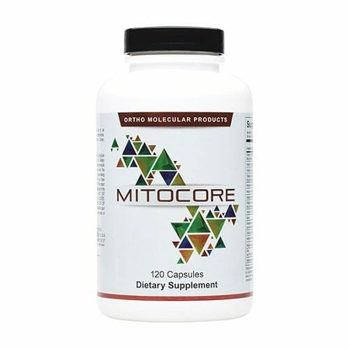 Mitocore | Ortho Molecular Products | Ingredients for Mitochondrial Health