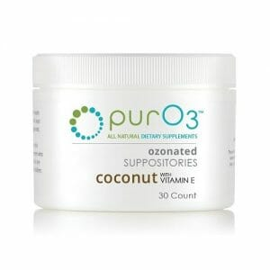Ozonated Coconut Oil with Vitamin E Suppositories | PurO3 | ozone therapy, gentle dosage
