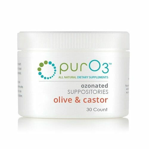 Ozonated Olive/Castor Oil Suppositories | PurO3 | Mild Ozone Therapy