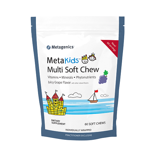 MetaKids Multi Soft Chew | Metagenics | Juicy Grape Flavor, 60 Servings